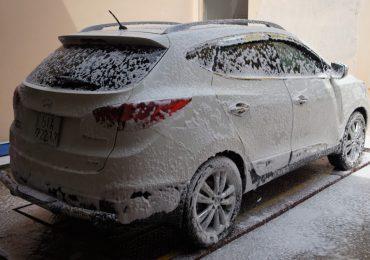 Máy Rửa Xe Bọt Tuyết 40 Lít