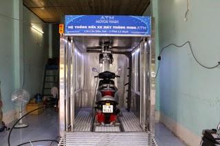 Máy Rửa Xe Máy Tự Động Sản Xuất Tại Việt Nam