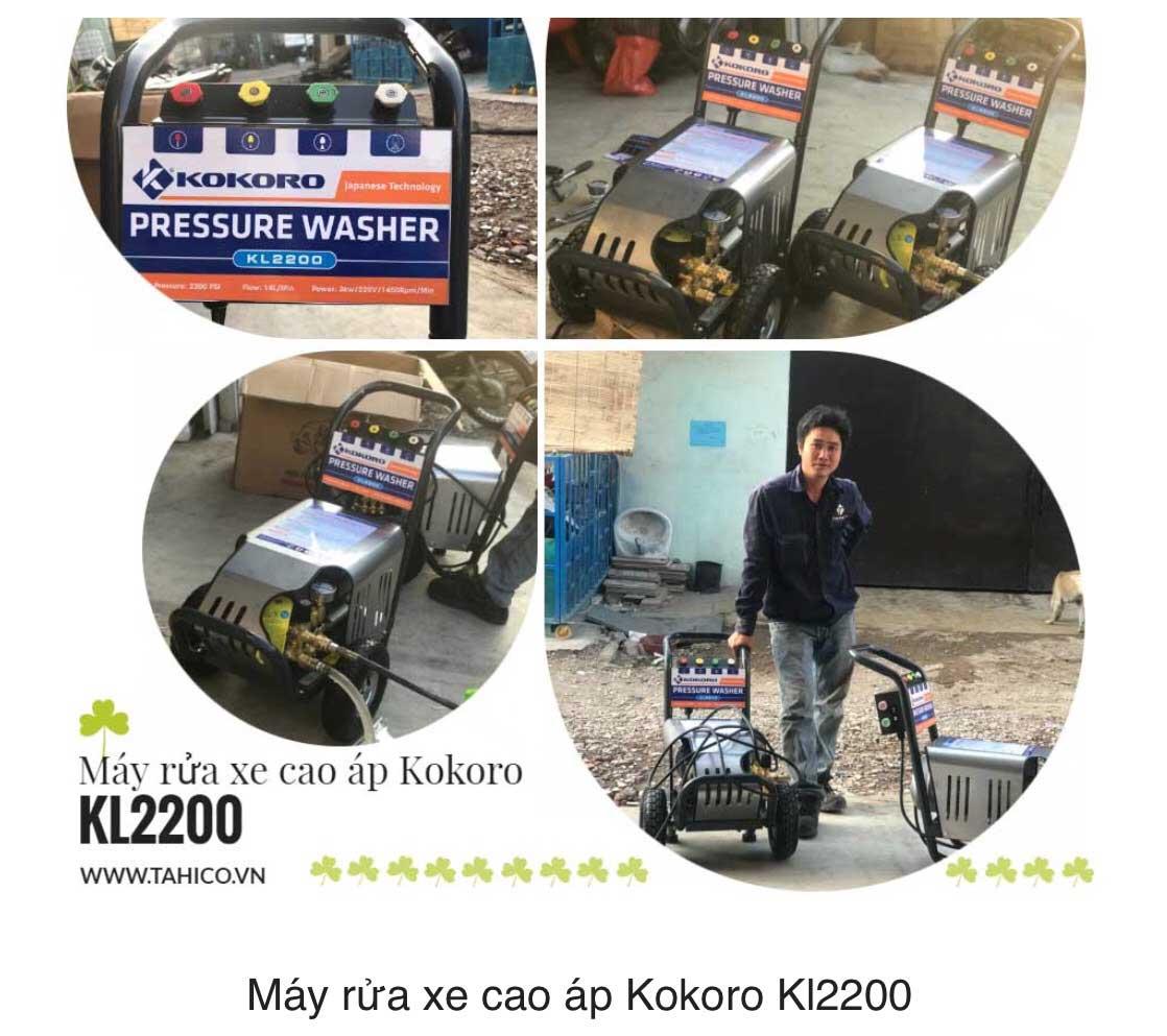 Máy rửa xe áp lực cao Kokoro