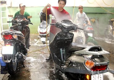 Máy Nén Khí Dùng Cho Rửa Xe Máy