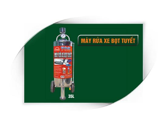 May rua xe bot tuyet 35 lit