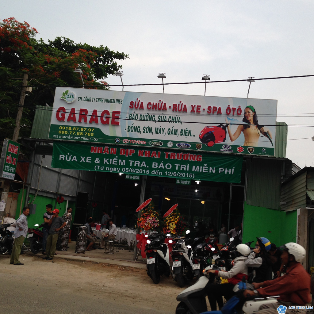Trạm rửa xe Vinataline