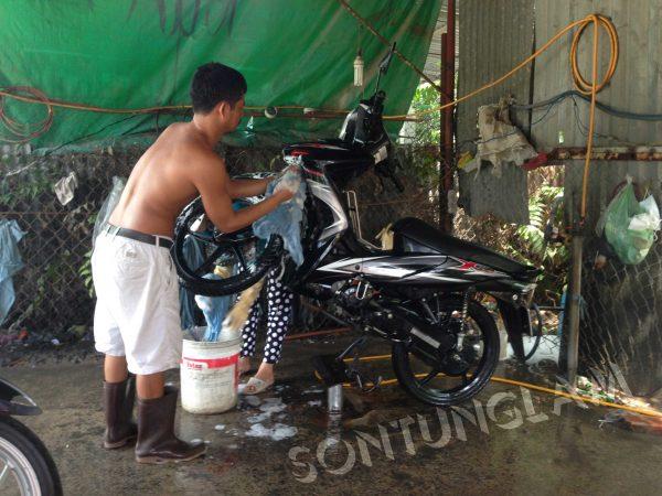 đầu tư tiệm rửa xe máy