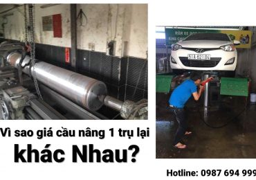Vì Sao Giá Cầu Nâng 1 Trụ Việt Nam Ở Mỗi Công Ty lại Khác?