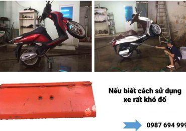 Cách Sử Dụng Ben Nâng 1 Trụ Chuyên Rửa Xe Máy