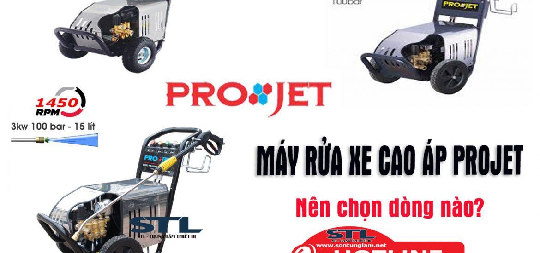 máy rửa xe cao áp projet