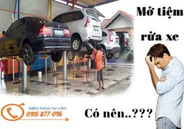 Tổng Hợp Những Vấn Đề Khi Mở Tiệm Rửa Ô Tô Xe Máy