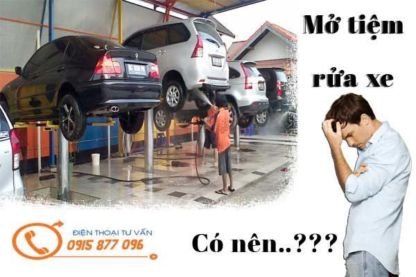 có nên mở tiệm rửa xe
