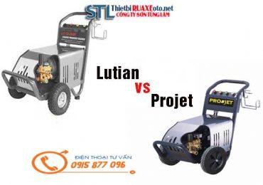So Sánh Máy Rửa Xe Cao Áp Lutian 1750psi và Projet P30-1510B2