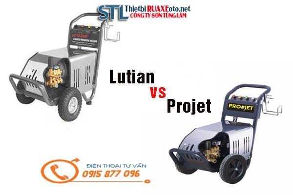 so sánh lutian và projet