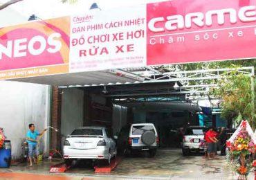 tiệm chăm sóc xe ô tô