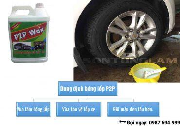 Chất Làm Bóng Lốp Xe Ô tô Những Đặc Điểm Cần Lưu Ý