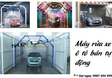 Hệ thống rửa xe ô tô tự động giá bao nhiêu tiền?