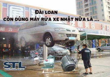 Máy rửa xe Nhật Bản