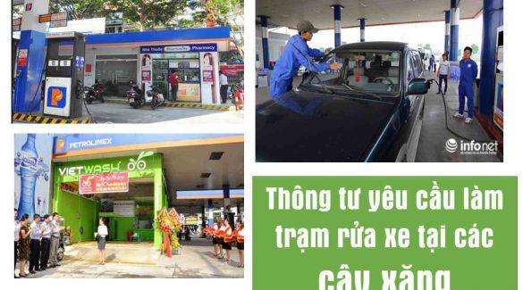 Xu hướng lắp đặt trạm rửa xe tự động tại các cây xăng hiện nay