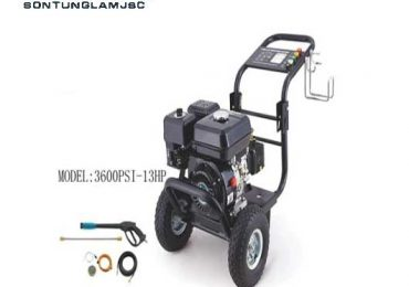 may rua xe chay xang co de model 3600psi 13hp