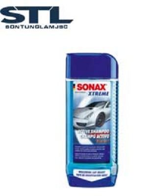 sonax xtreme active shampoo xa bong rua xe