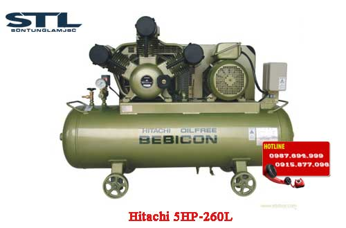 may nen khi hitachi 5hp 260l
