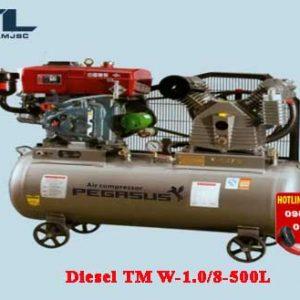 may nen khi chay dau diesel tm w 1.0/8 500l