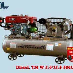 may nen khi chay dau diesel tm w 2.0/12.5 500l
