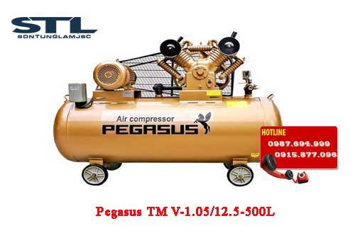 may nen khi day dai pegasus tm v 1.05/12.5 500l