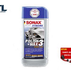 dung dich danh bong son xe sonax xtreme polish wax 3 250ml