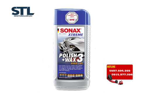 dung d ch nh b ng s n xe sonax xtreme polish wax 3 250ml. Black Bedroom Furniture Sets. Home Design Ideas