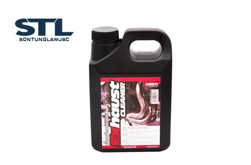 dung dich tay gi set cuc manh lube71 exhause cleaner 1l