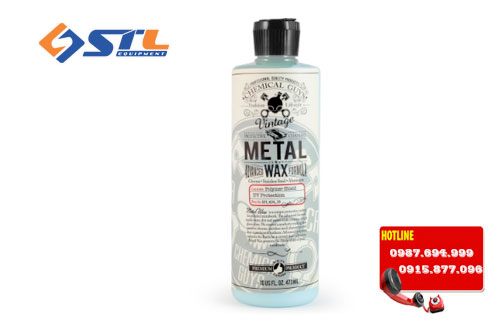 wax danh bong va bao ve be mat kim loai chemical guys metal wax 16oz