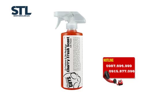 xit khu mui huong cherry chemical guys cherry fresh scent premium air freshener odor eliminator 16oz