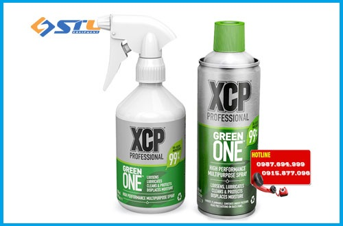 chai ve sinh da nang boi tron bao ve chong ri set xcp green one 400ml
