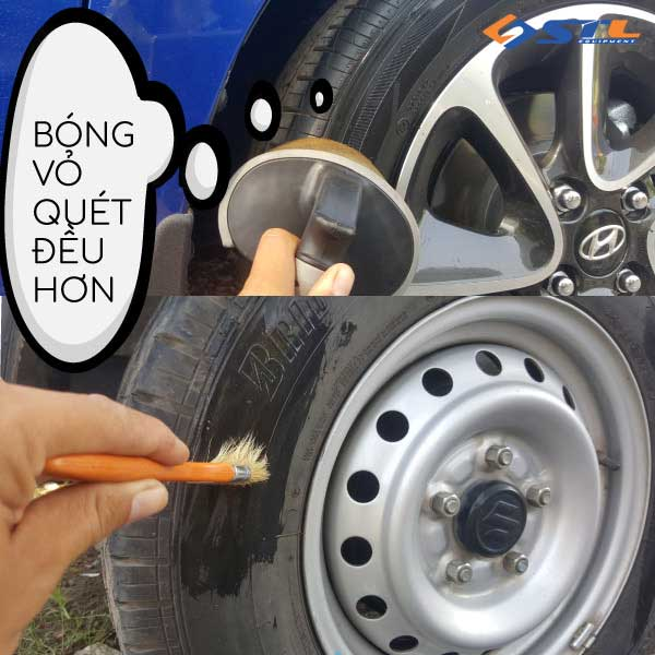 danh bong vo xe o to dung cach