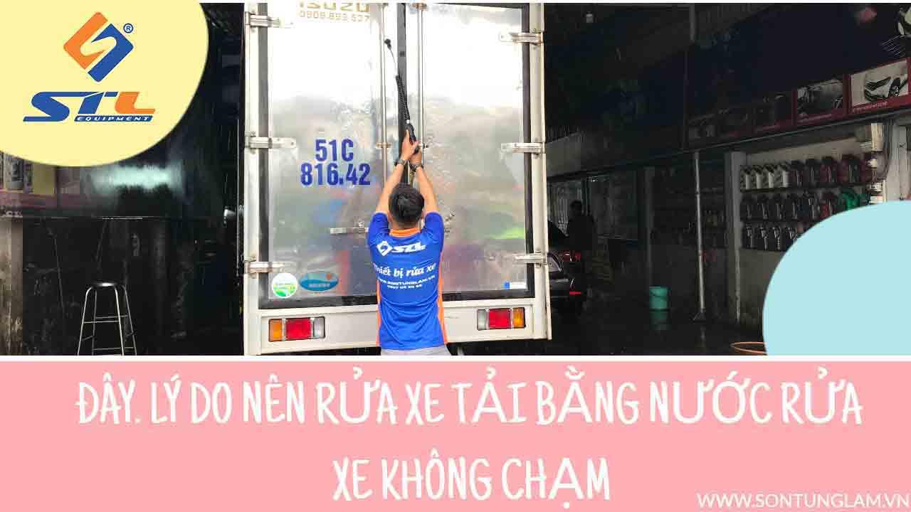 Giải pháp cho tiệm rửa xe tải