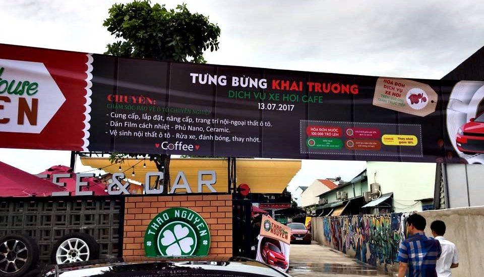 kinh doanh cafe rua xe