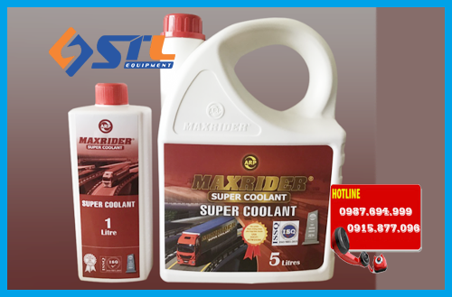 dung dich maxrider super coolant mau do 5l