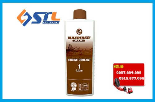 dung dich giam nhiet maxrider engine coolant 1l