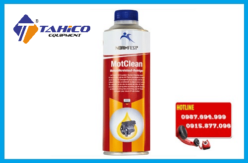 dung dich phu gia normfest oil system cleaner flush motclean 500ml