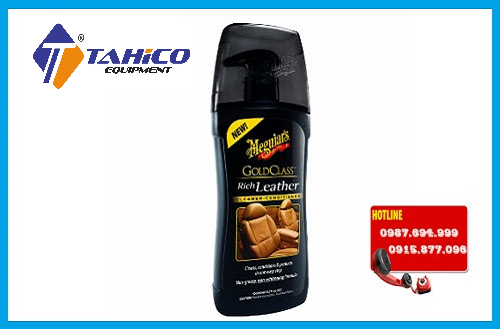 dung dich meguiars g17914 gold class rich leather cleaner conditioner 400ml