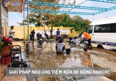 giai phap cho tiem rua xe dong khach dip cuoi nam