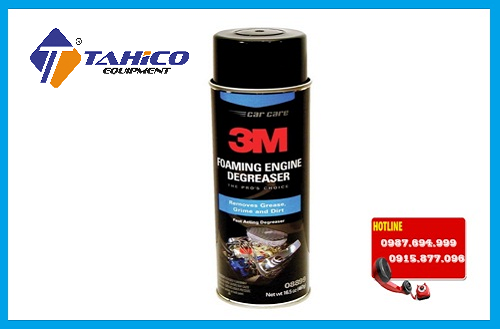 hoa chat tay rua dau mo dong co 3m foaming engine degreaser 08899