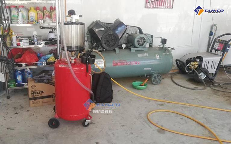 Bộ thiết bị rửa xe chuyên nghiệp của trạm rửa xe Như Ý, Bình Dương