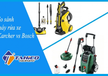 so sanh may rua xe karcher va bosch