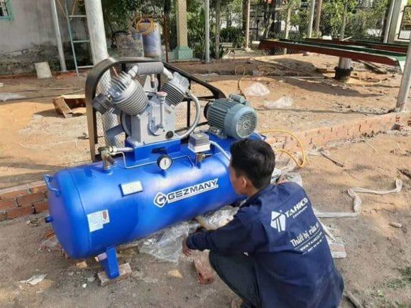 Máy nén khí chuyên dụng cho các tiệm rửa và chăm sóc ô tô