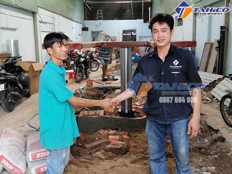 Bàn giao công trình tại quận Bình Tân