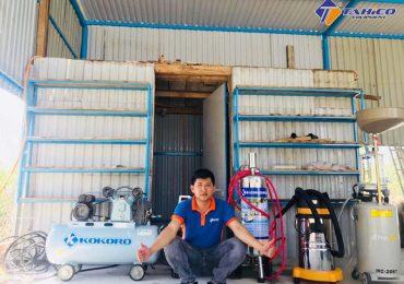 các thiết bị cho tiệm rửa xe ô tô xe máy