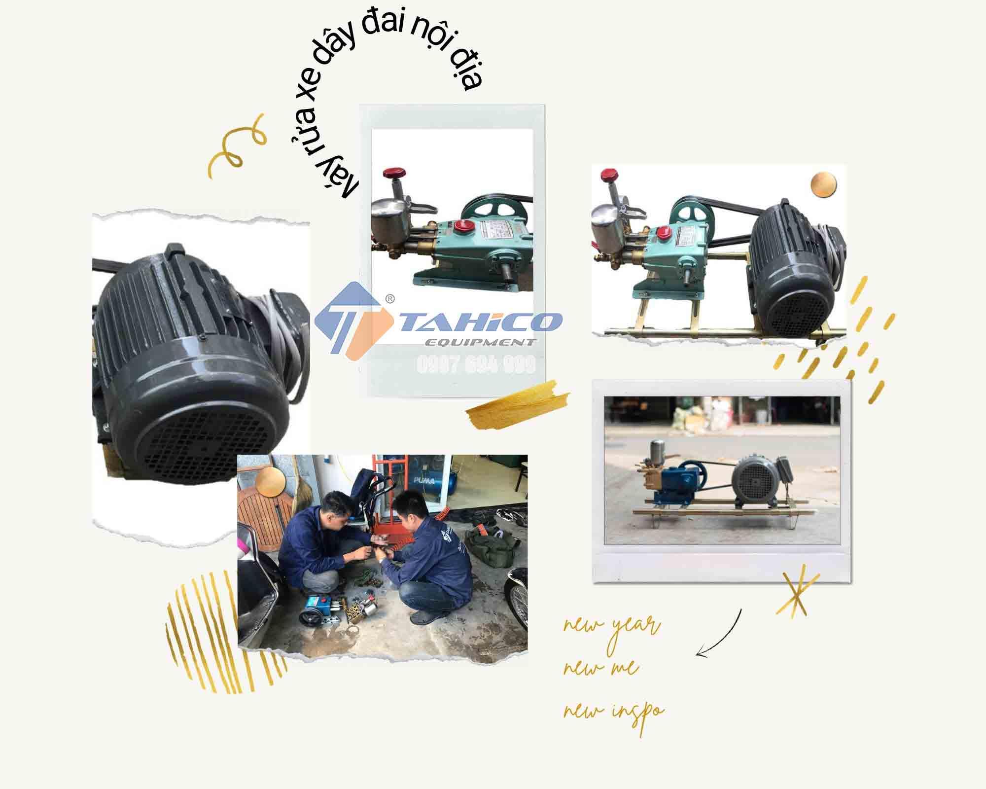 Máy rửa xe dây đai nội địa Nhật Bản - Sản phẩm của sự bền bỉ
